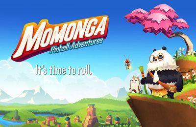 logo Momonga - Pinball Abenteuer