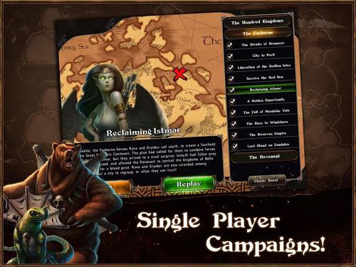 Fantasy-Spiele Legends of Callasia auf Deutsch
