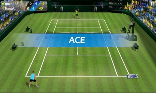 Tennis-Spiele Tennis 3D auf Deutsch