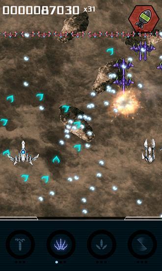 Flugspiele Squadron: Bullet hell shooter auf Deutsch