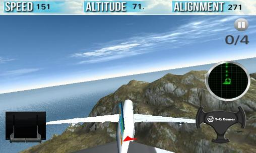 Flight simulator 2015 in 3D pour Android