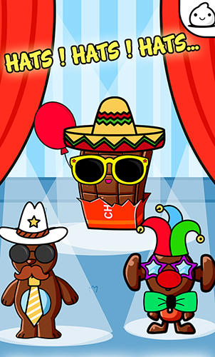 Chocolate evolution: Idle tycoon and clicker game für Android