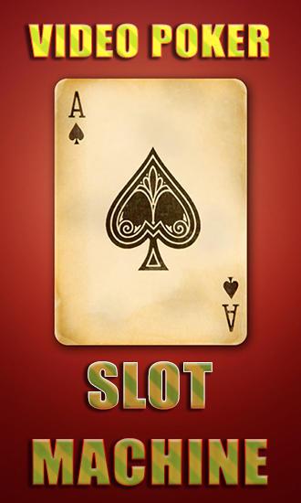 Video poker: Slot machine screenshots