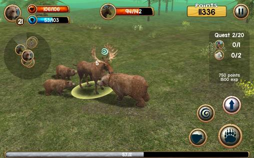 Wild bear simulator 3D pour Android