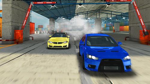 Rennspiele Top cars: Drift racing für das Smartphone