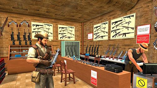 Western cowboy gun shooting fighter open world Screenshot