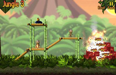 截图猴子邦戈在iPhone