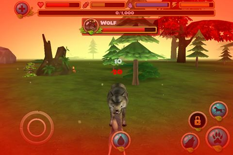 Wildleben Simulator: Wolf für iPhone