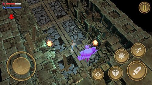 RPG-Spiele Treasure hunter. Dungeon fight: Monster slasher für das Smartphone