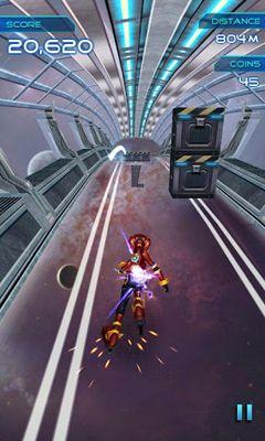 Arcade-Spiele X-Runner für das Smartphone