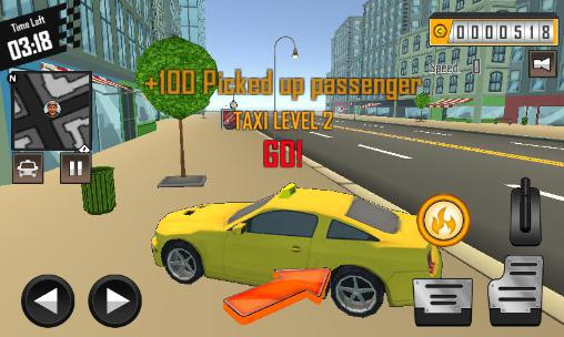 Crazy driver: Taxi duty 3D part 2 for Android