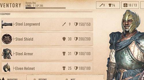 Скріншот The elder scrolls: Blades на iPhone