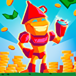 Idle hero clicker game: Win the epic battle Symbol