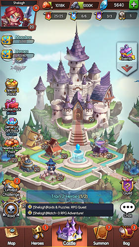 Android Logik für Fly: Raids and puzzles: RPG quest