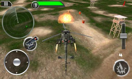 Gunship: Deadly strike. Sandstorm wars 3D скриншот 2