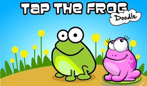 logo Tippe auf den Frosch: Doodle