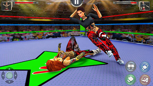 Women wrestling revolution pro für Android
