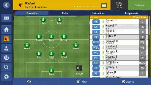 Strategy games: download Football manager mobile 2017 to your phone
