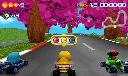 Pac-Man: Kart rally captura de pantalla 3