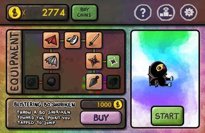 Jogos de arcade: faça o download de Fuja Colorida de Ninja para o seu telefone