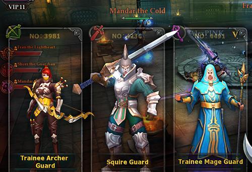RPG-Spiele Dungeon champions für das Smartphone