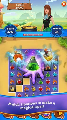 3 Gewinnt Magic puzzle: Match 3 game auf Deutsch