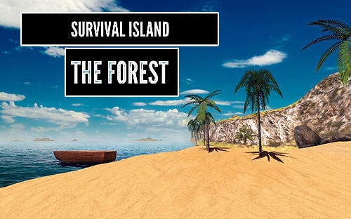Survival island: The forest 3D icône