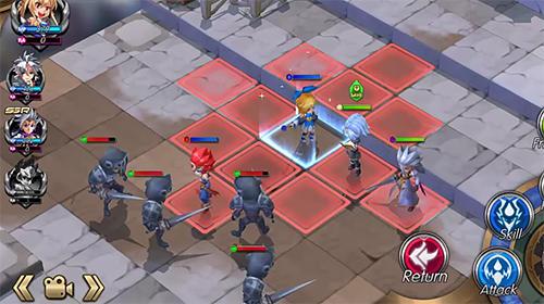 Online-Strategiespiele Miracle In Wonderland: Tactics auf Deutsch