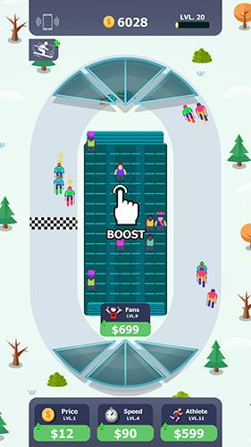 Arcade-Spiele Sports city idle für das Smartphone