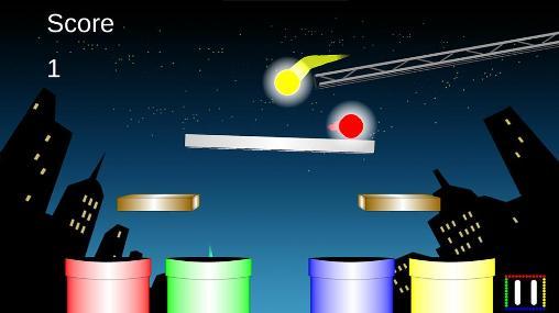 Juegos de arcade Tilt city para teléfono inteligente