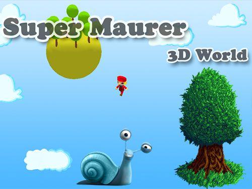 logo Suber Maurer: 3D Welt