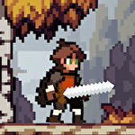 Apple knight: Action platformer icône