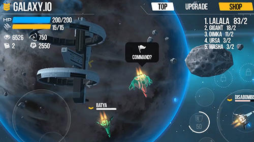 Galaxy.io: Space arena für Android