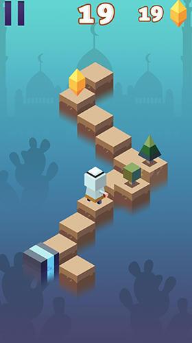 Arcade Path jump für das Smartphone