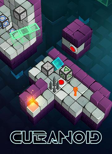 Cubanoid: Hardcore puzzle maze Screenshot