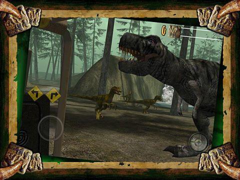 Le Safari de Dinosaures en russe