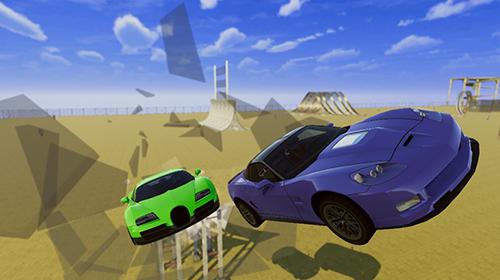 Car crash demolition derby simulator 2018 captura de pantalla 1
