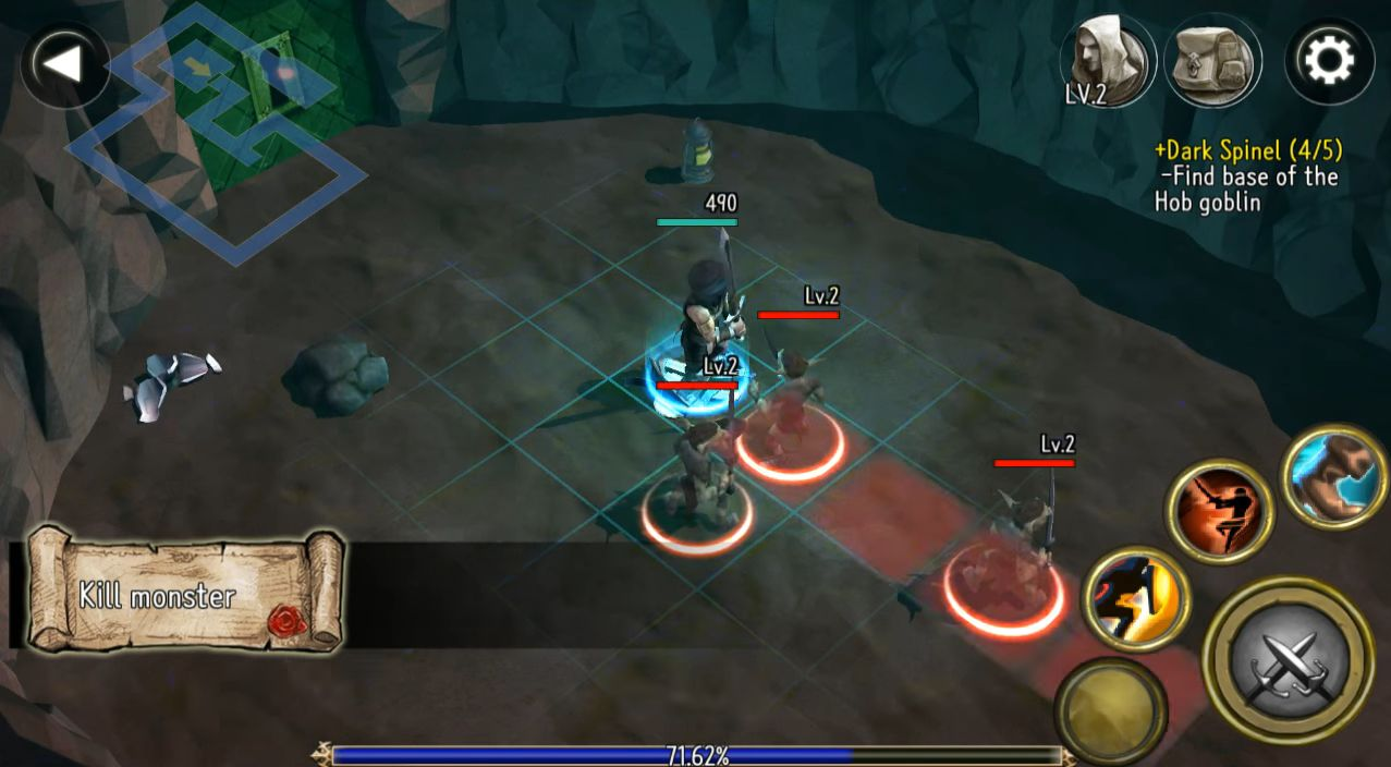 Rogue Hearts captura de tela 1