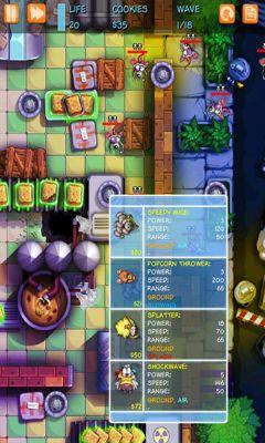 Strategie Garfield Zombie Defense für das Smartphone