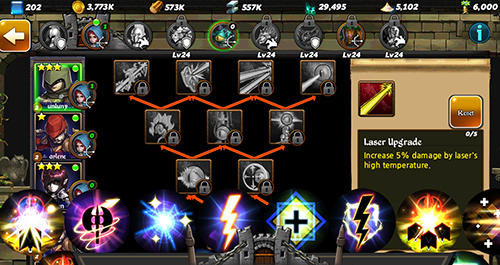 Online Strategy games Conquerors: Winds of chaos in English