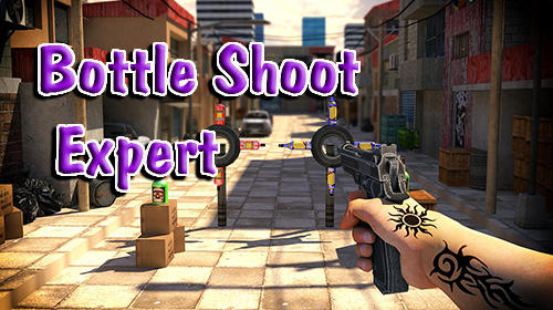 Bottle shoot 3D game expert captura de pantalla 1