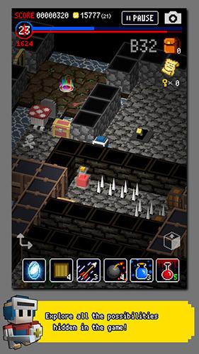 RPG Dungeon of gravestone für das Smartphone
