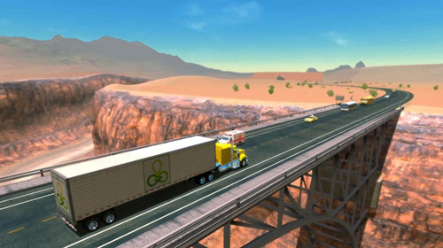 Truck simulation 19 screenshot 1