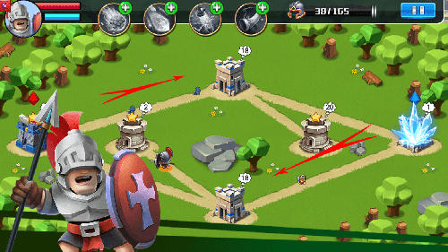 Strategie Castle battle für das Smartphone
