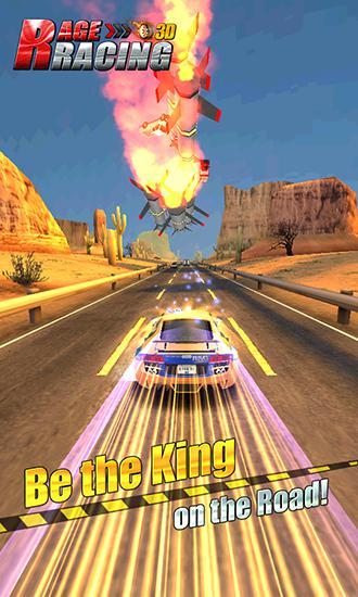 Rage racing 3D auf Deutsch