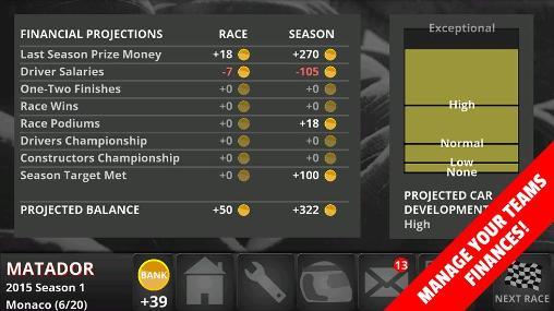 Fastest lap racing: Manager pro Screenshot