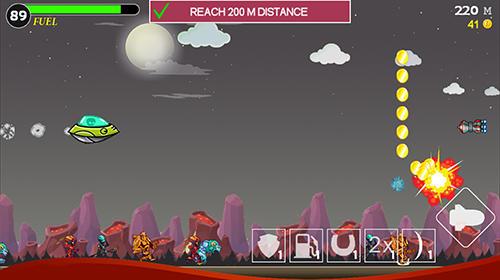 Arcade Heroes attack: Alien shooter für das Smartphone