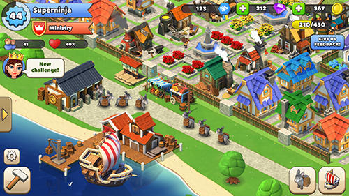 Trade town by Cheetah games für Android