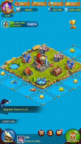 King of seas: Islands battle für Android