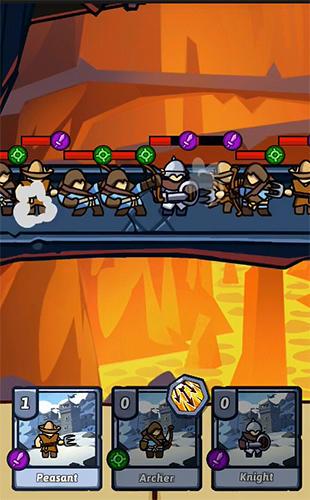 Bridge battles: Tactical card RPG für Android